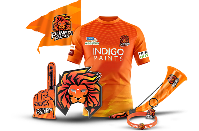Puneri Paltan Jersey and logo
