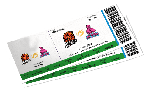 Puneri Paltan Match Tickets